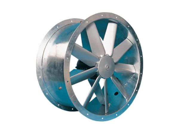 50JM/20/4/6/32/1PH Long Cased Axial Fan by Flakt Woods